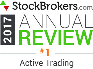 Interactive Brokers reviews: 2017 Stockbrokers.com Awards - Best for Active Trading