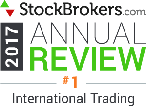 Interactive Brokers reviews: 2017 Stockbrokers.com Awards - Best for International Trading